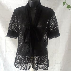White House Black market  Lacey top